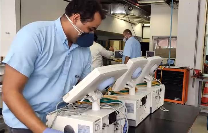 Imagem ilustrativa da notícia: Ford repara 200 respiradores no Nordeste