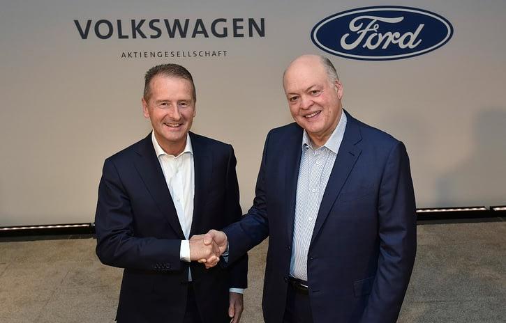 Imagem ilustrativa da notícia: Aliança Ford-VW envolve também autônomos e elétricos