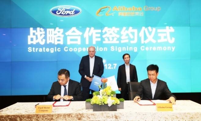 Imagem ilustrativa da notícia: Ford firma parceria com o Alibaba