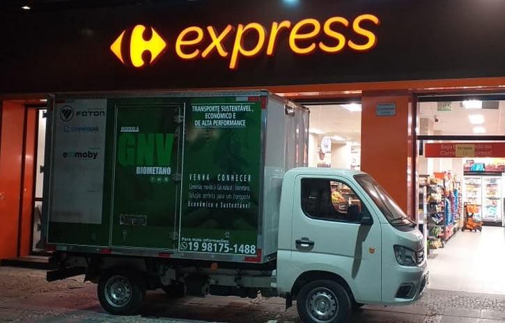 Imagem ilustrativa da notícia: Foton inicia testes de novo caminhão no Brasil