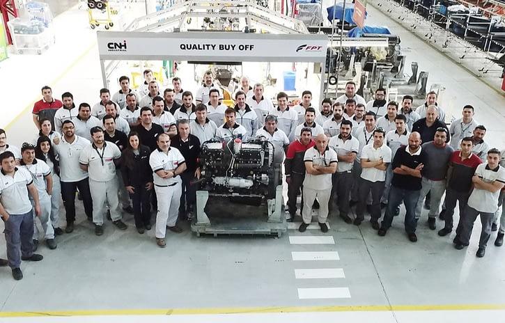 Imagem ilustrativa da notícia: FPT Industrial supera os 500 mil motores na América do Sul