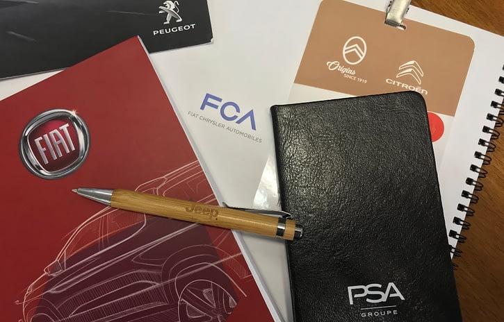 Imagem ilustrativa da notícia: Fusão da PSA com FCA pode ser anunciada na quinta-feira, 31