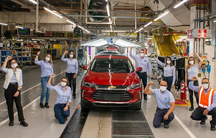 Imagem ilustrativa da notícia: GM atinge marca de 100 mil Tracker produzidos no Brasil