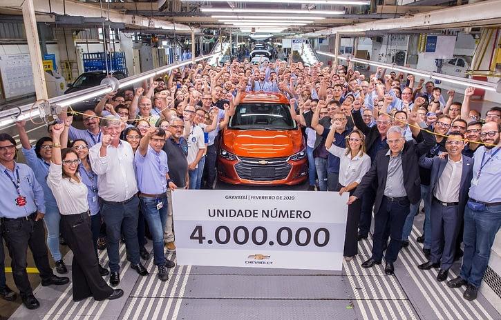 Imagem ilustrativa da notícia: GM Gravataí produziu 4 milhões de veículos