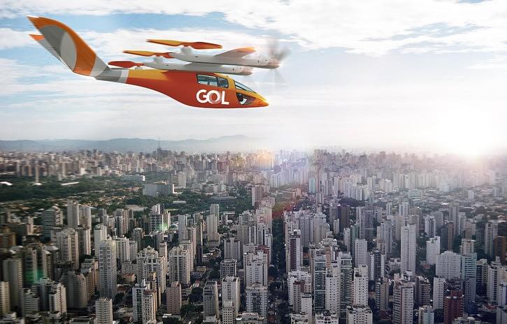 Imagem ilustrativa da notícia: GOL assina contrato para comprar 250 carros voadores