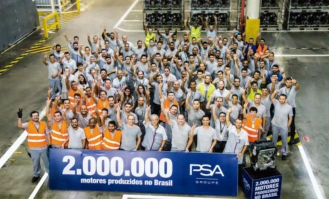 Imagem ilustrativa da notícia: Marco: Porto Real já produziu 2 milhões de motores PSA.