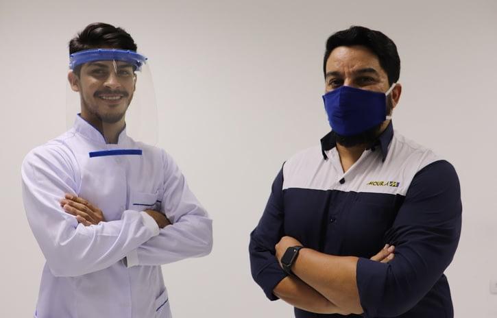 Imagem ilustrativa da notícia: Grupo Moura produz máscaras plásticas em Belo Jardim