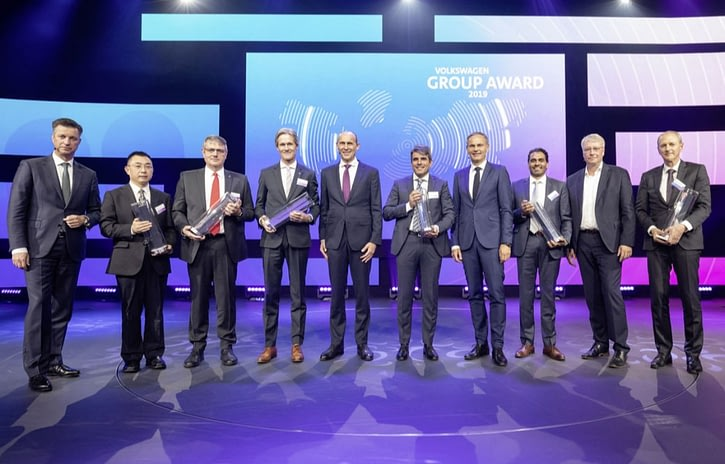 Imagem ilustrativa da notícia: Grupo Vokswagen premia seus melhores fornecedores