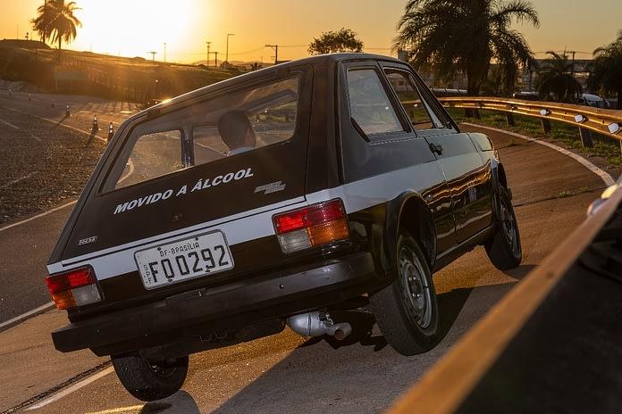 Imagem ilustrativa da notícia: Há quarenta anos a Fiat começou a produzir o 147 a álcool