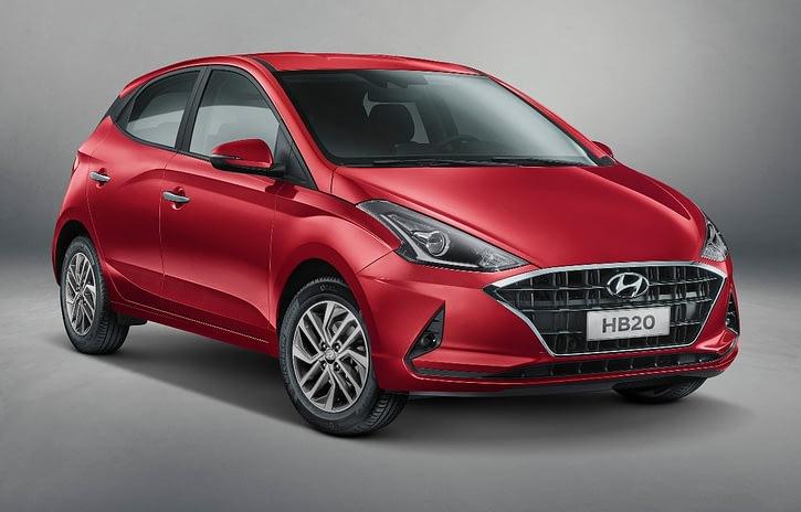 Imagem ilustrativa da notícia: Hyundai revela as linhas do novo HB20