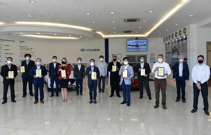Imagem ilustrativa da notícia: Hyundai premia seus fornecedores na região