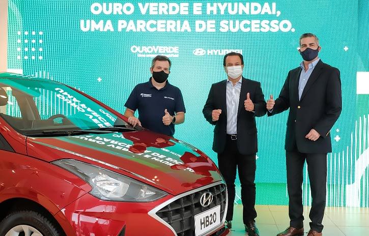 Imagem ilustrativa da notícia: Hyundai vende 600 veículos para Locadora Ouro Verde