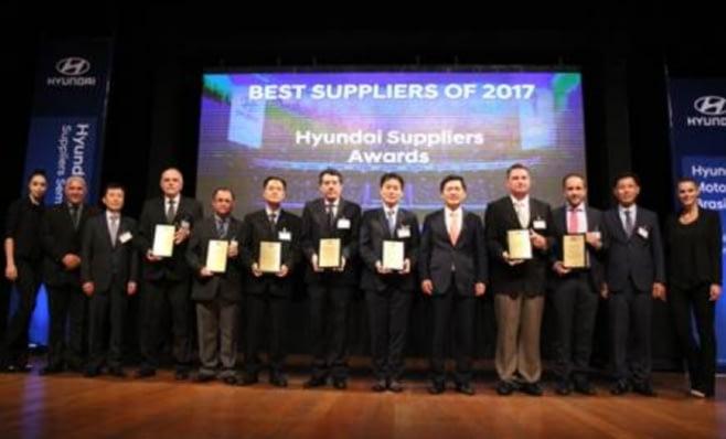 Imagem ilustrativa da notícia: Hyundai premia seus melhores fornecedores