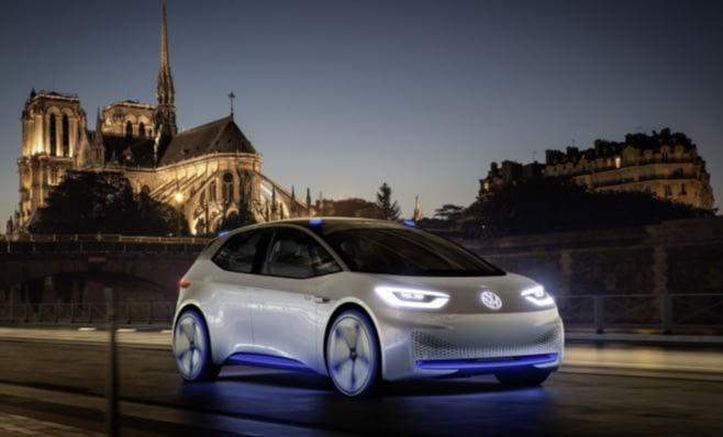 Imagem ilustrativa da notícia: VW iniciará produção de I.D. elétrico em 2019