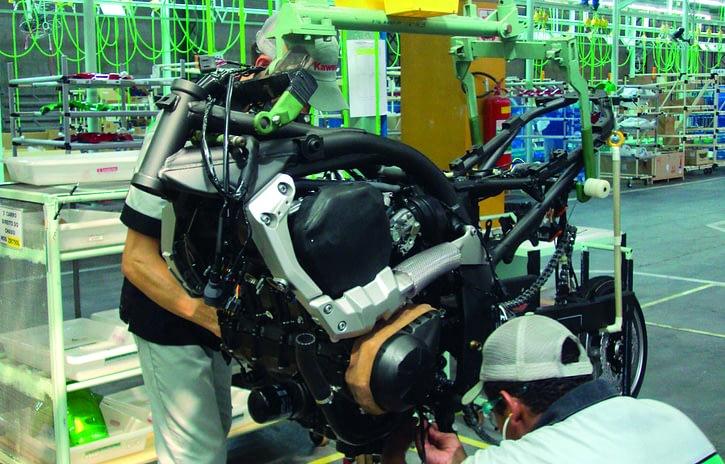 Imagem ilustrativa da notícia: Indústria de motocicletas dá sinais de recuperação