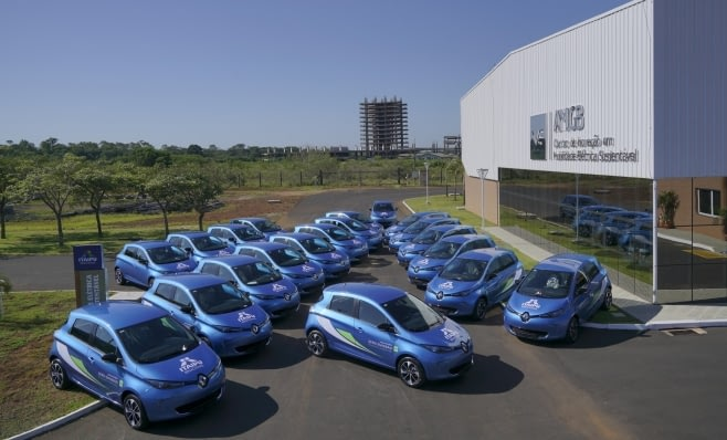 Imagem ilustrativa da notícia: Renault fornece vinte novos veículos elétricos para Itaipu