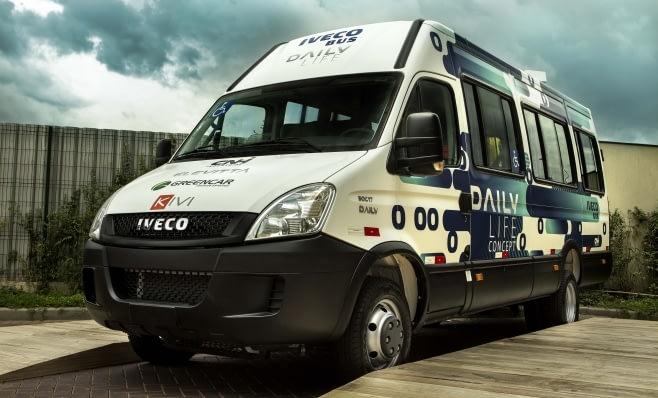 Imagem ilustrativa da notícia: Iveco apresenta Daily Life