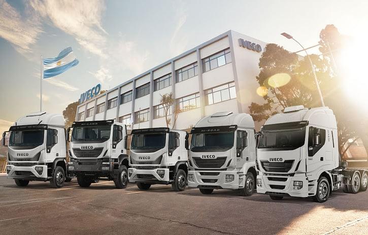 Imagem ilustrativa da notícia: Iveco lidera mercado acima de 16 toneladas na Argentina