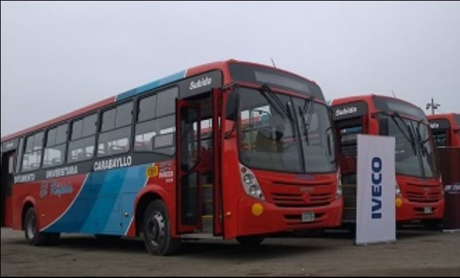 Imagem ilustrativa da notícia: Iveco vende catorze ônibus no Peru