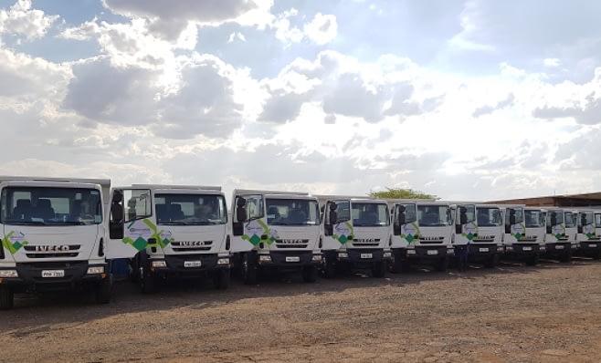 Imagem ilustrativa da notícia: Iveco vende 41 caminhões para Rio Verde