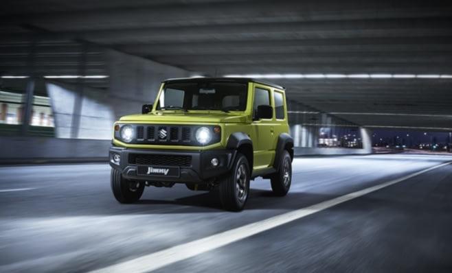 Imagem ilustrativa da notícia: Suzuki apresenta novo Jimny no Japão