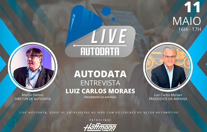 Imagem ilustrativa da notícia: Live AutoData entrevista Luiz Carlos Moraes, presidente da Anfavea