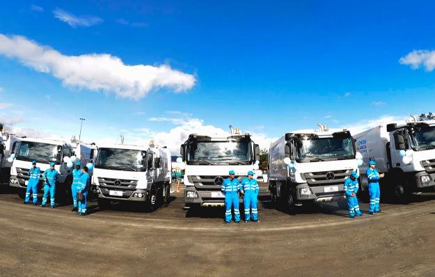 Imagem ilustrativa da notícia: Coleta de lixo de Bogotá compra 39 caminhões Atego