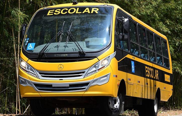 Imagem ilustrativa da notícia: M-B entrega 874 micro-ônibus para Caminho da Escola