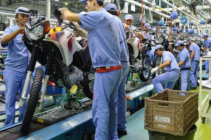 Imagem ilustrativa da notícia: Protocolos sanitários dificultam aumento da produção de motocicletas