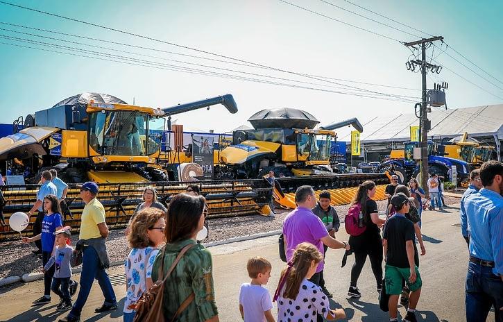 Imagem ilustrativa da notícia: Máquinas representam 95% dos negócios da Expointer