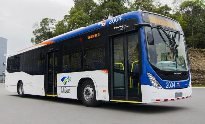Imagem ilustrativa da notícia: Marcopolo exporta 203 ônibus urbanos ao Panamá