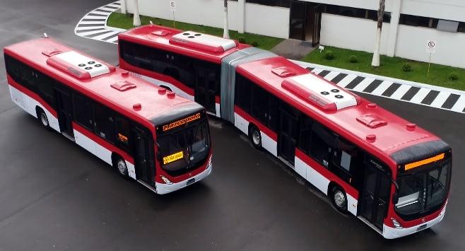 Imagem ilustrativa da notícia: Marcopolo vende 342 ônibus para Transantiago