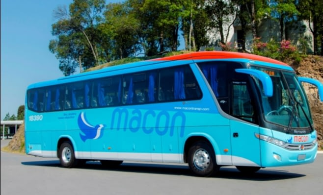 Imagem ilustrativa da notícia: Macon, de Angola, recebe 34 ônibus Marcopolo