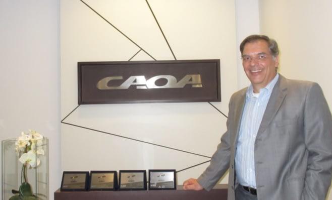 Imagem ilustrativa da notícia: Caoa recebe as placas do Prêmio AutoData