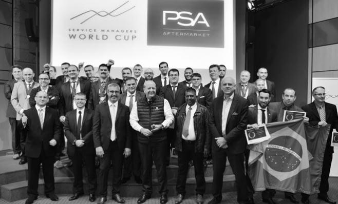 Imagem ilustrativa da notícia: Groupe PSA premia melhores gerentes de serviço