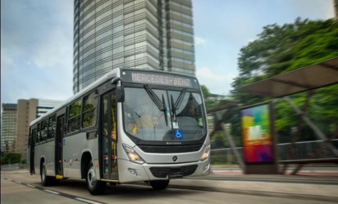 Imagem ilustrativa da notícia: Mercedes-Benz tem 59% de participação em ônibus