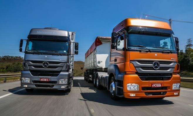 Imagem ilustrativa da notícia: Mercedes-Benz é a líder de vendas de veículos comerciais em 2017