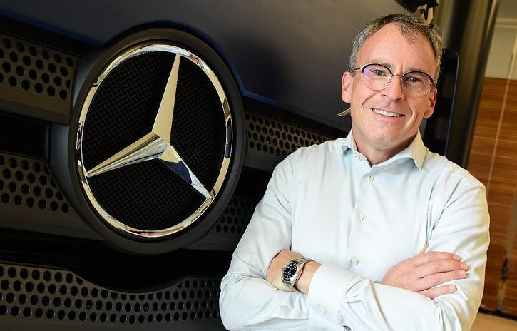 Imagem ilustrativa da notícia: Mercedes-Benz tem novo diretor de compras