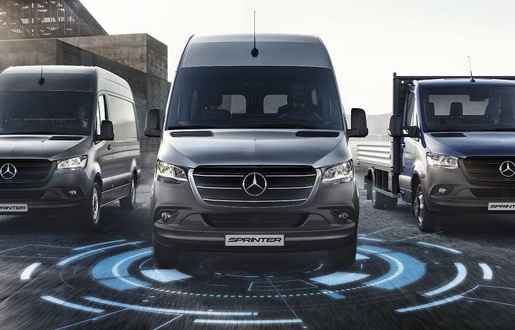 Imagem ilustrativa da notícia: Mercedes-Benz lança gestão de frota para Sprinter