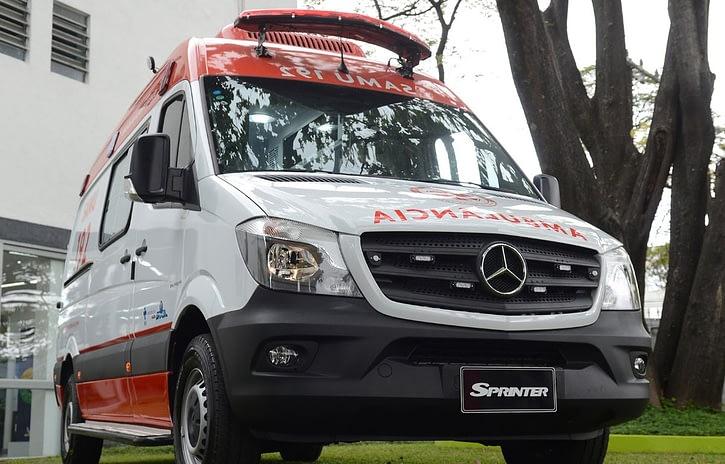 Imagem ilustrativa da notícia: Mercedes-Benz entrega 280 Sprinter para o SAMU