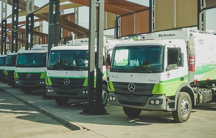 Imagem ilustrativa da notícia: Mercedes-Benz exporta 18 Atego para o Chile