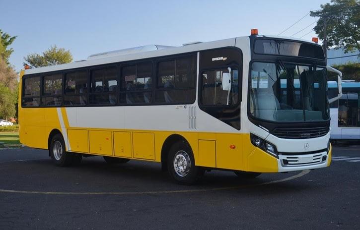 Imagem ilustrativa da notícia: Mercedes-Benz exporta chassis para o Suriname