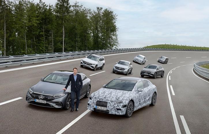 Imagem ilustrativa da notícia: Mercedes-Benz investe 40 bilhões de euro em eletrificação