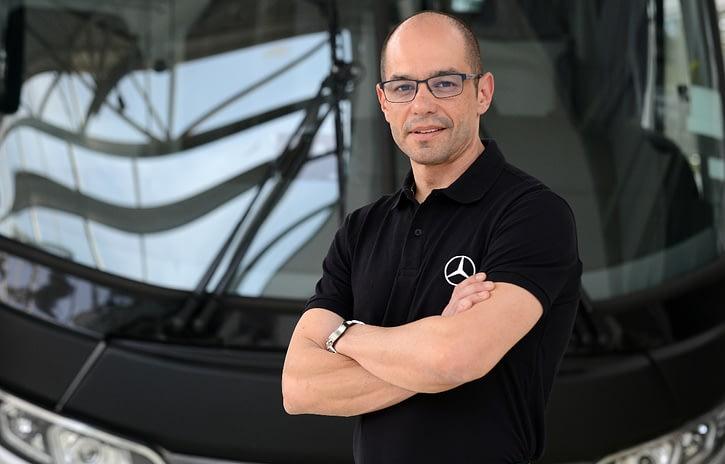 Imagem ilustrativa da notícia: Mercedes-Benz projeta queda de 35% no mercado de ônibus