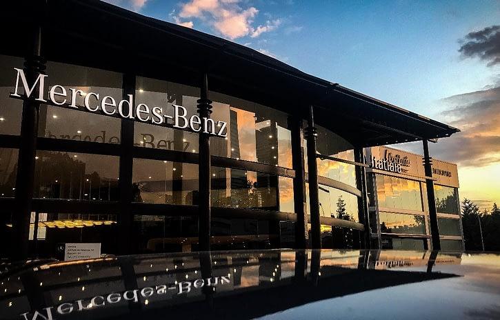 Imagem ilustrativa da notícia: Mercedes-Benz reinaugura revenda em Alphaville