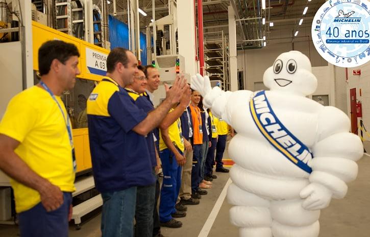 Imagem ilustrativa da notícia: Michelin completa 40 anos de produção nacional