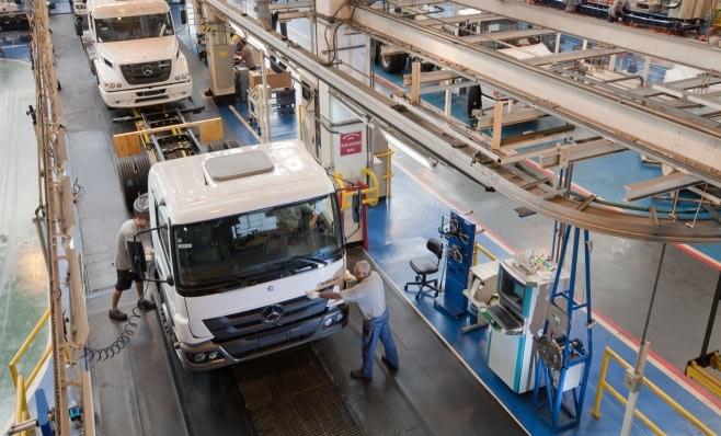 Imagem ilustrativa da notícia: Mercedes-Benz: trimestre em alta nas vendas no Brasil