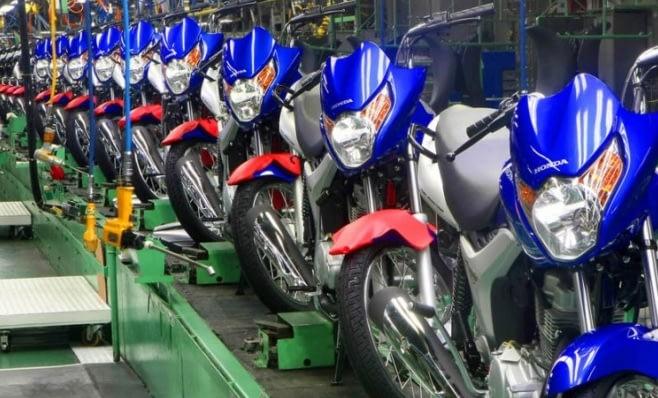 Imagem ilustrativa da notícia: Produção de motos é a maior desde 2015