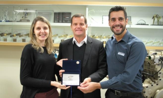 Imagem ilustrativa da notícia: MWM Motores recebe Prêmio AutoData