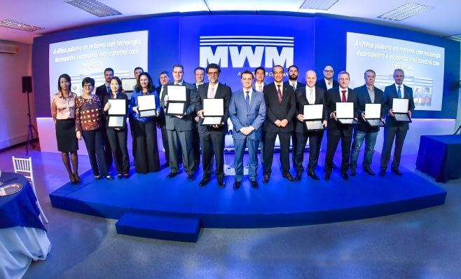 Imagem ilustrativa da notícia: MWM premia nove fornecedores nacionais